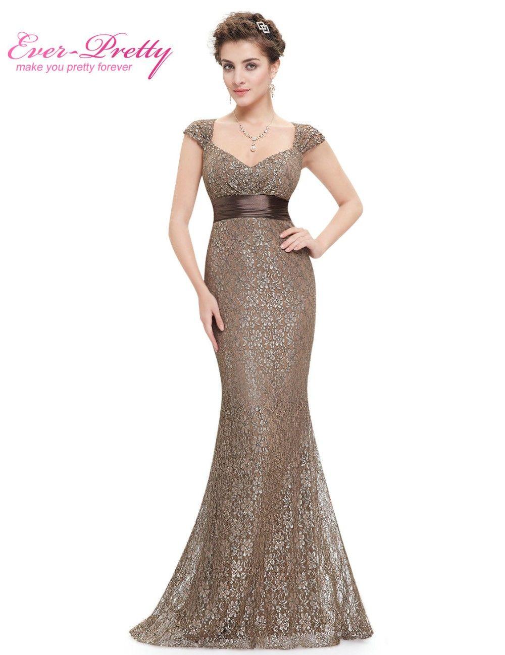 Womenus elegant peach collar long evening party dresses ever pretty