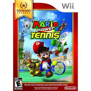 Mario Power Tennis Nintendo Selects Wii Gamecube Games Mario Wii