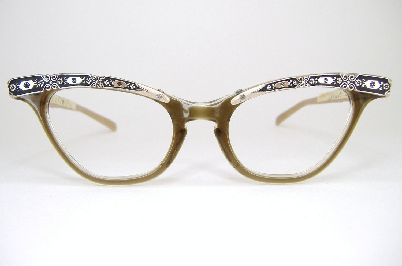 Vintage 1950s 1960s Liberty Cat Eye Eyeglasses Unique Design Etsy Vintage Glasses Frames Vintage Glasses Vintage Eyeglasses
