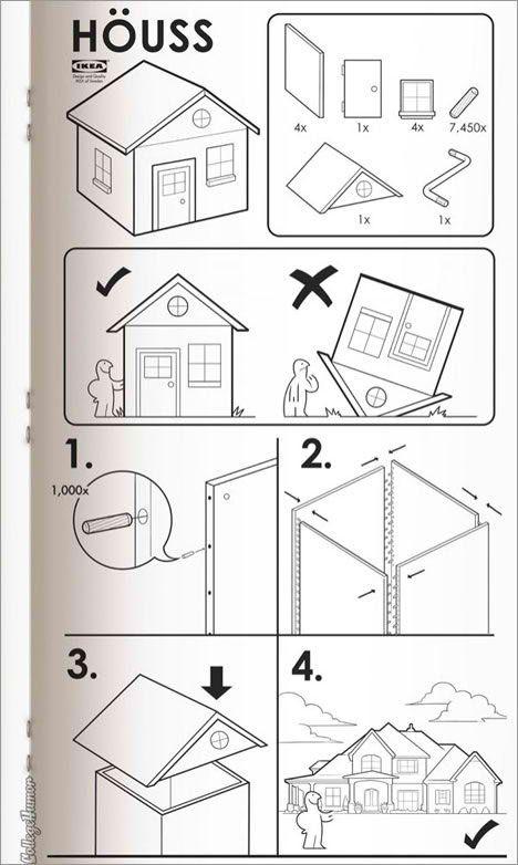 ikea instructions joke