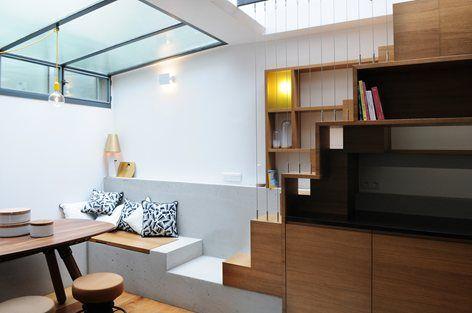 Paris Row House, Paris, 2015 - Eitan Hammer