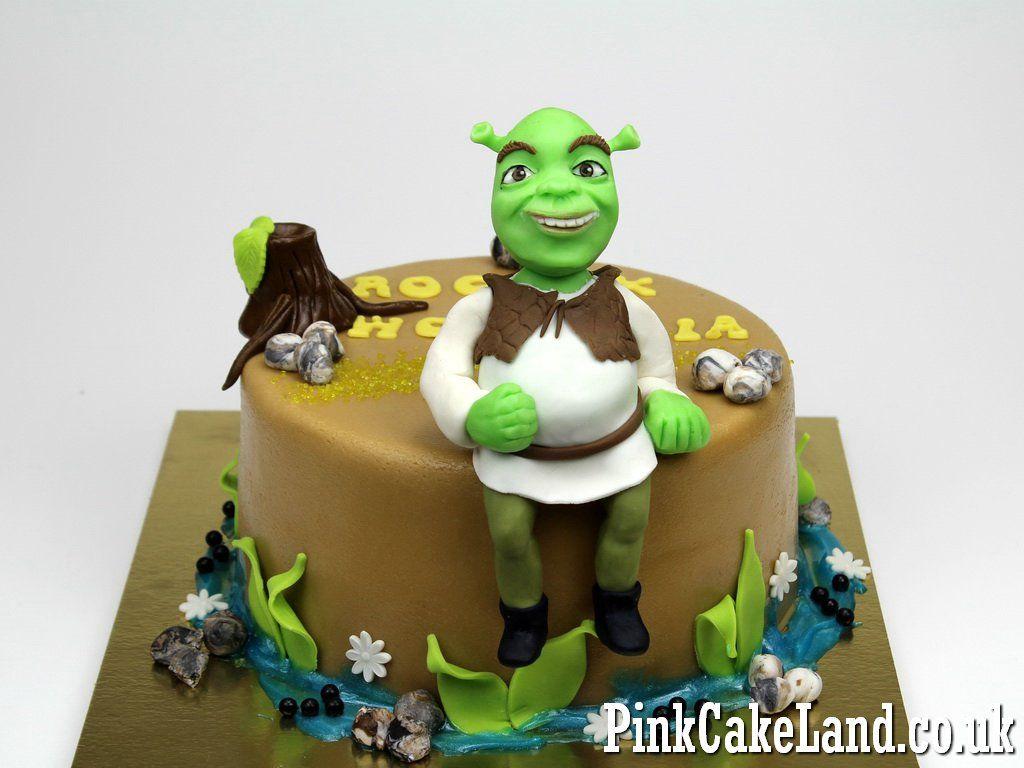 Shrek Birthday Cake Lodnon Cakes Httppinkcakeland