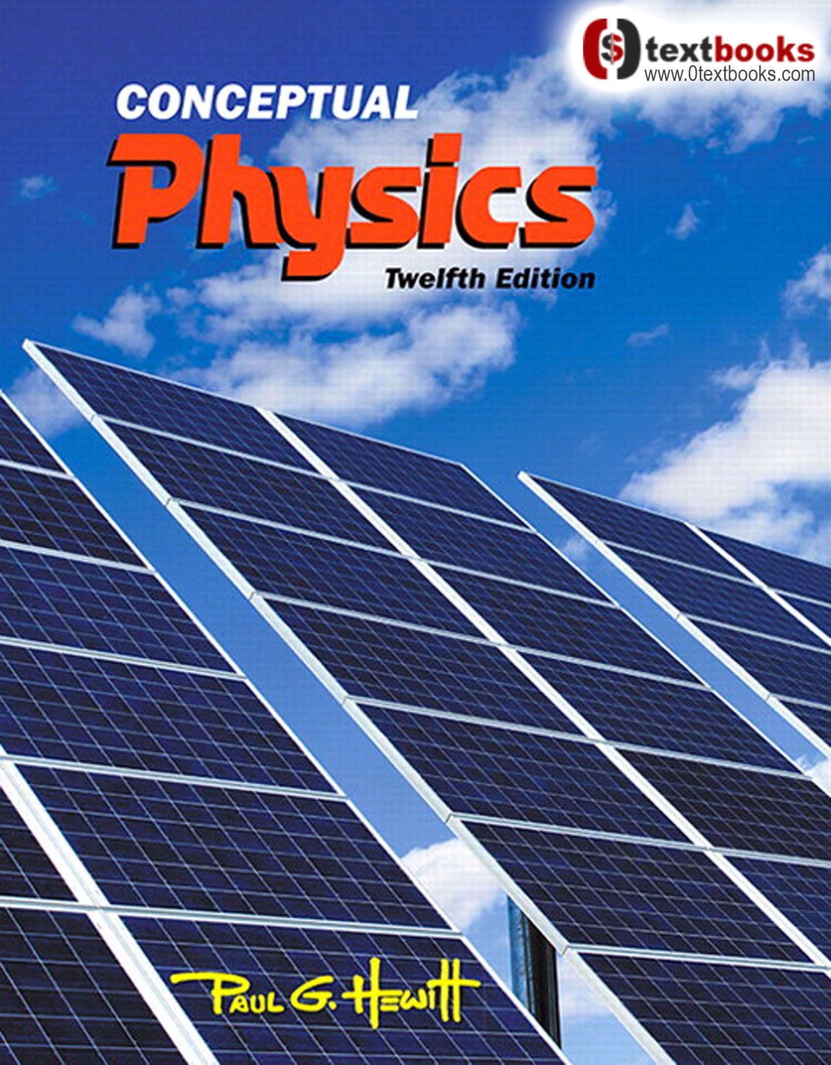 Conceptual Physics 12th Edition