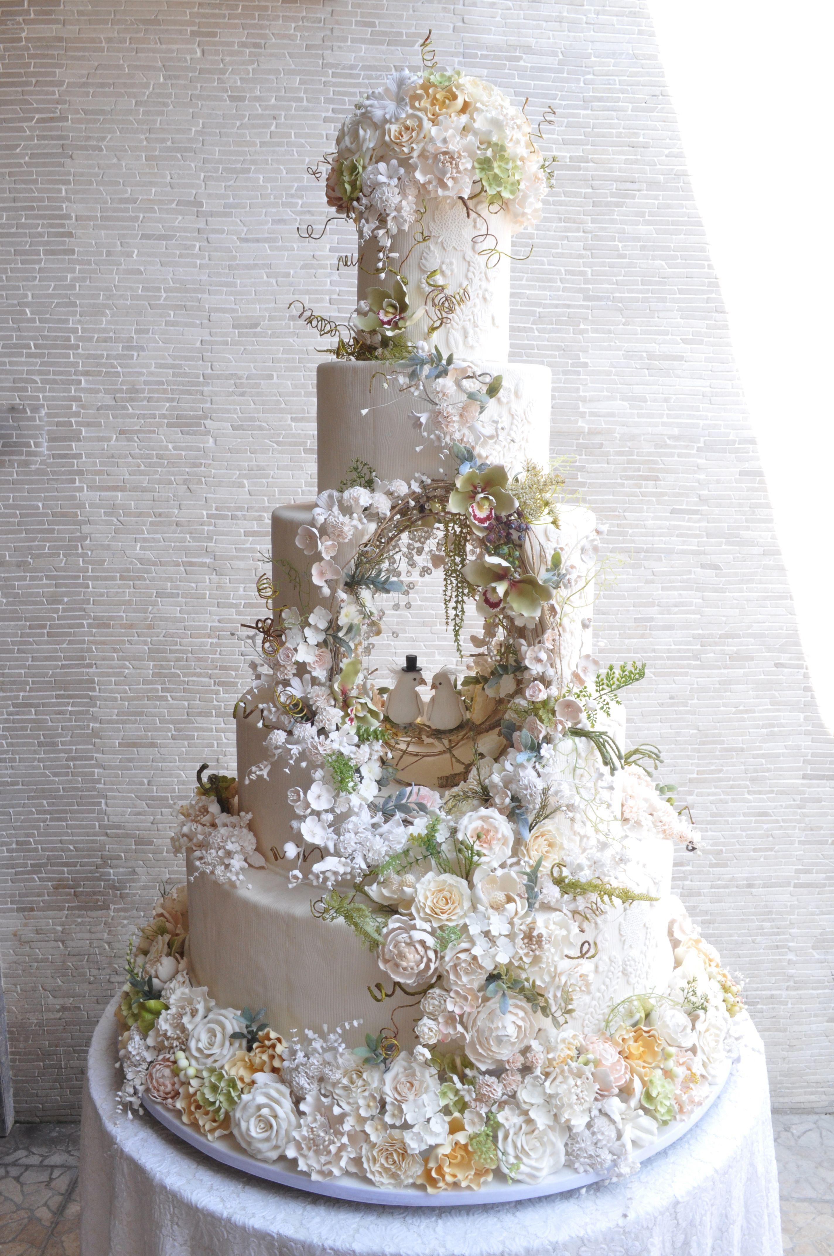 5 Tiers - Le Novelle Cake | Jakarta & Bali Wedding Cake | wedding ...