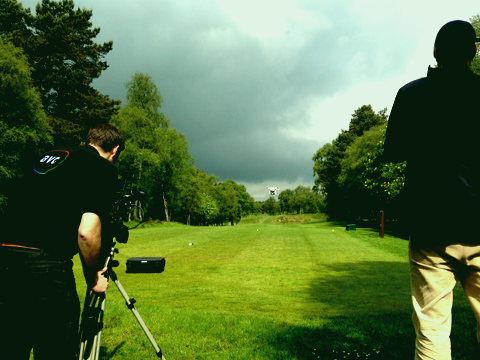 Flying high with AVC Media AVC film at Newmachar Golf