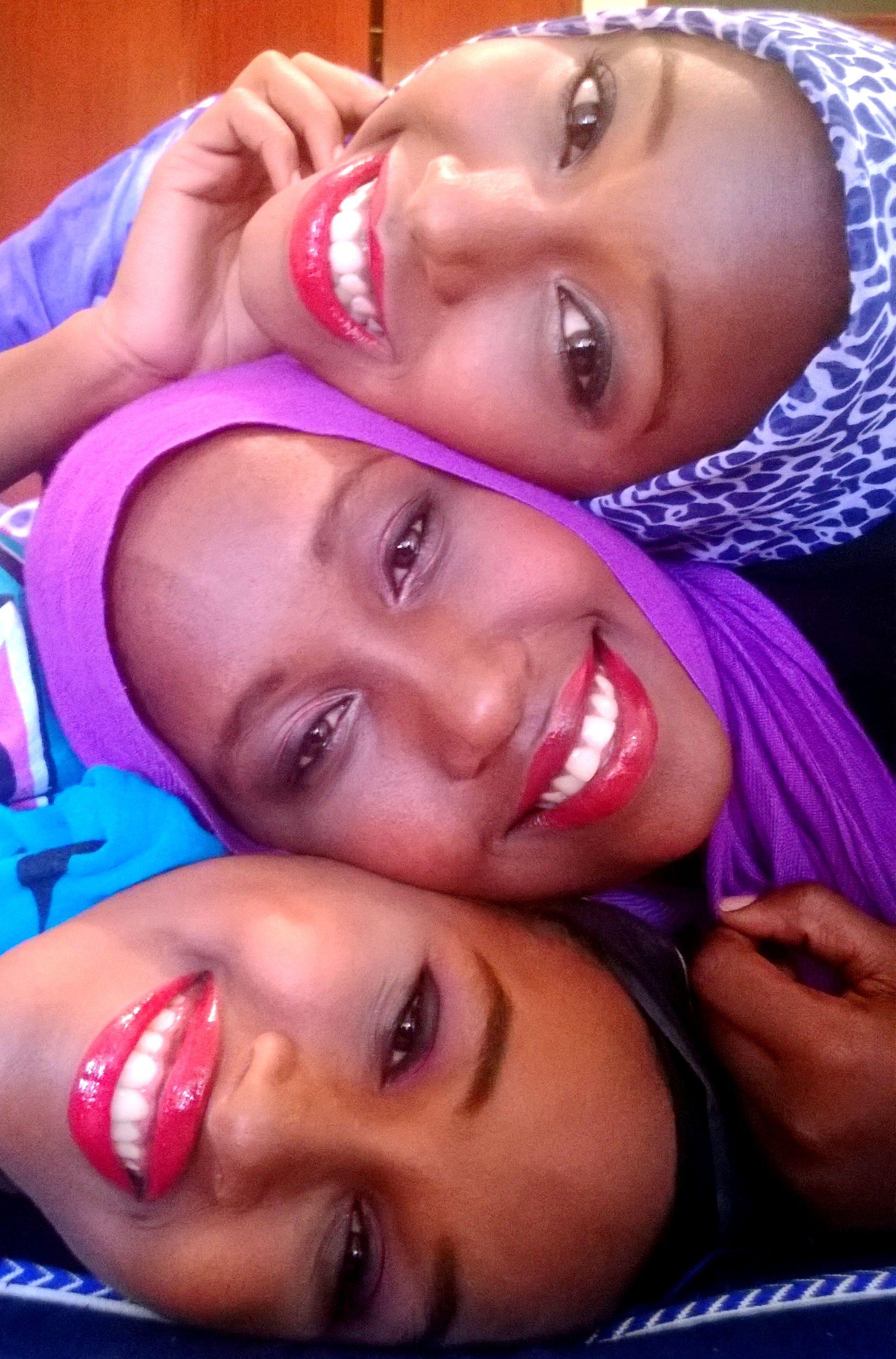 One lipstick, Three different looks :)