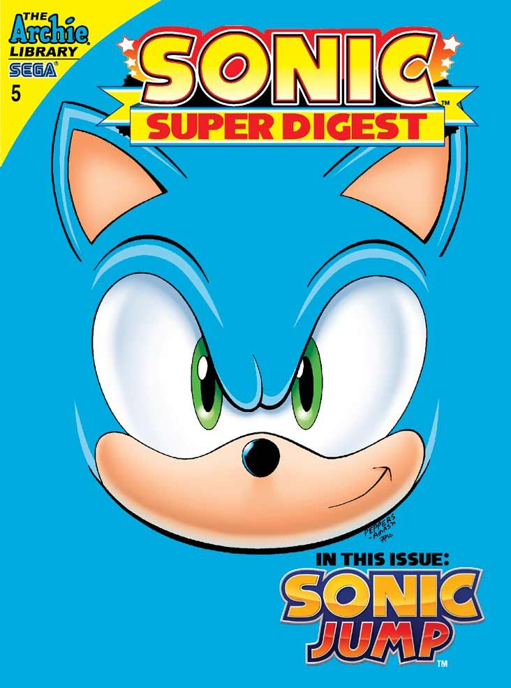 sonic super digest quarterly subscription 4 issues buy it now at