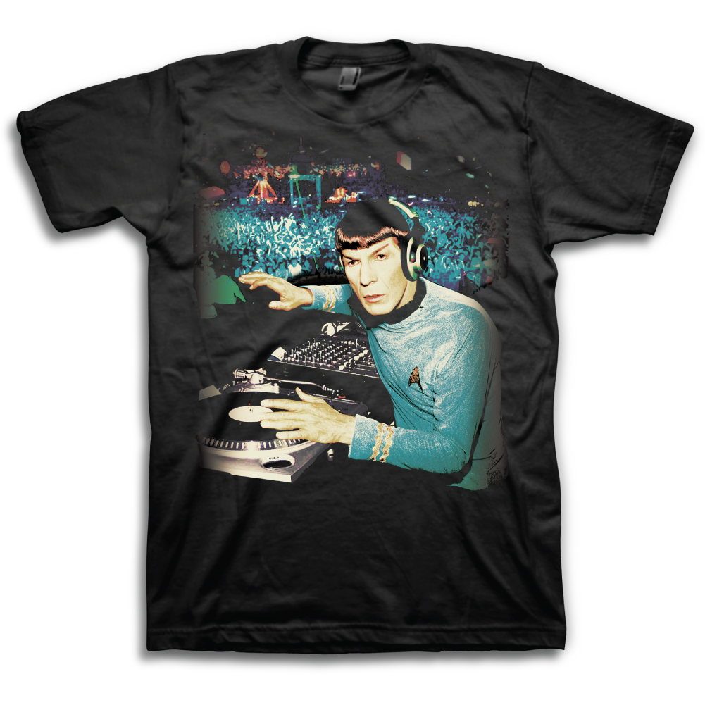 f96b6b53 DJ Spock Star Trek T-Shirt - TshirtMall.com | T-Shirts | Star Trek ...