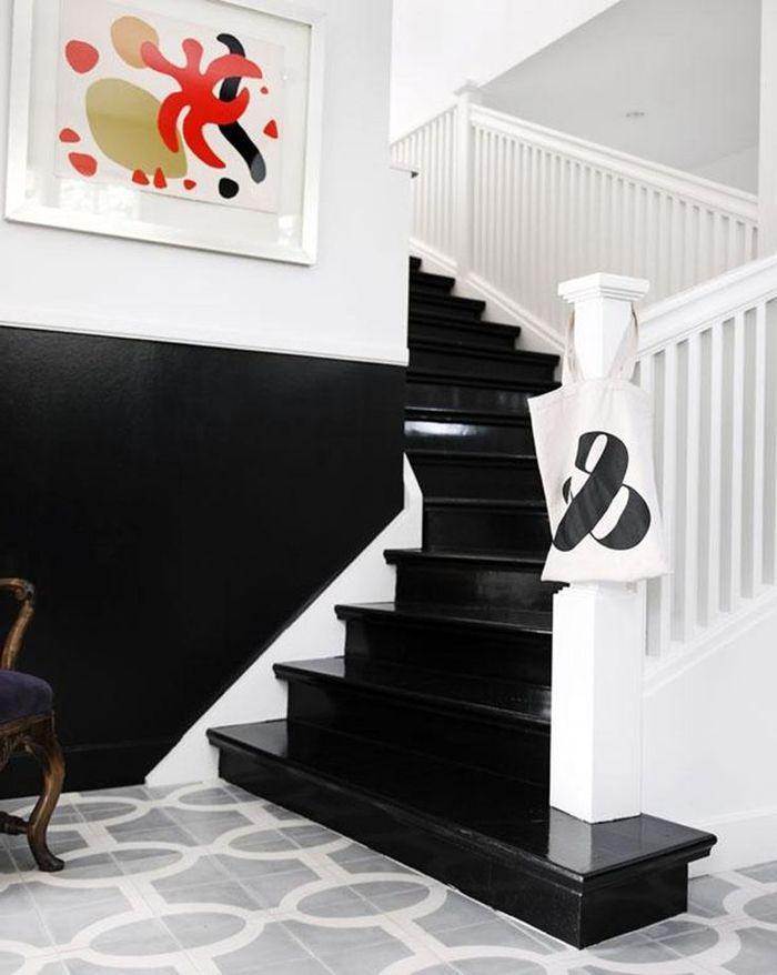 1001 id es pour r aliser une d co mont e d 39 escalier originale escalier pinterest. Black Bedroom Furniture Sets. Home Design Ideas