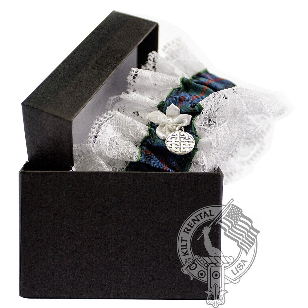 Scottish Tartan Garter