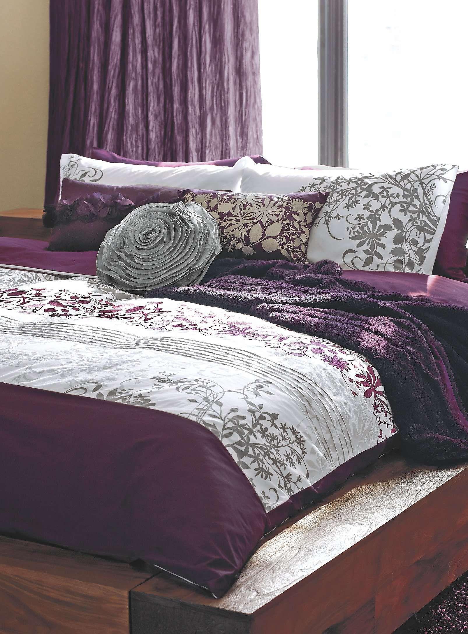 l 39 ensemble housse brod lianes en fleurs housses couette et douillettes simons faire de. Black Bedroom Furniture Sets. Home Design Ideas