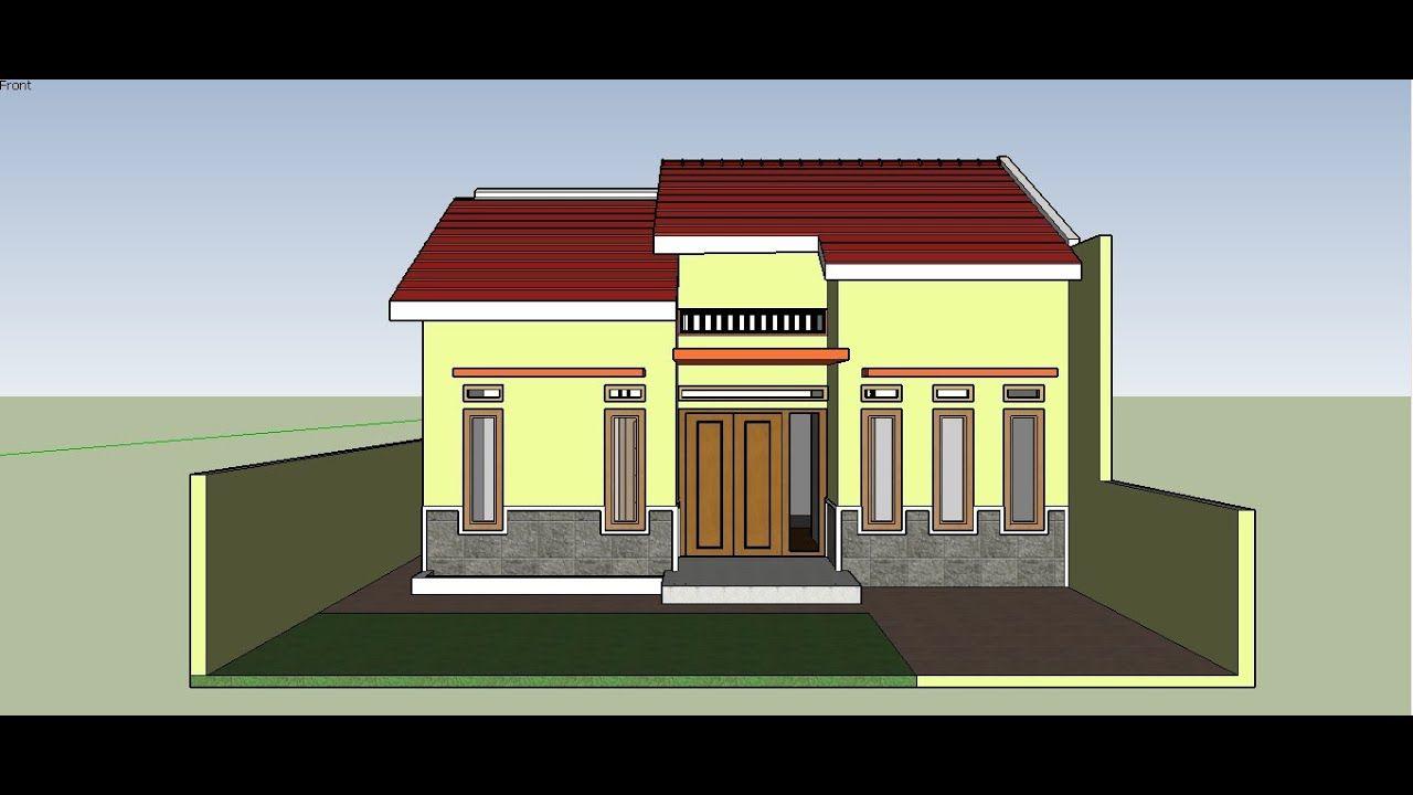 Desain Rumah Dan Toko Satu Lantai