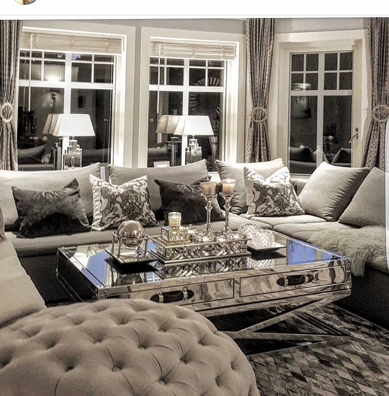 Home Decor Image By Linh Lin Luxury Living Room Modern Glam