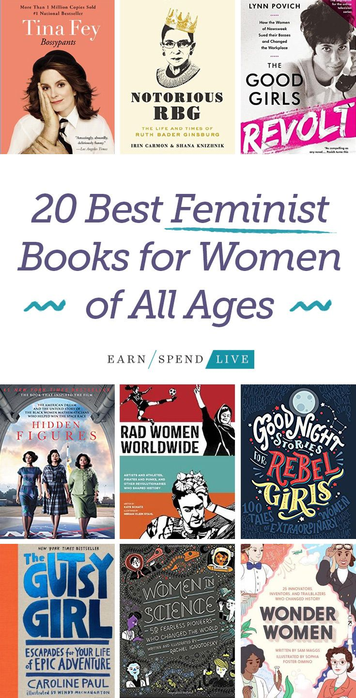 006 20 Best Feminist Books For Women of All Ages Books to