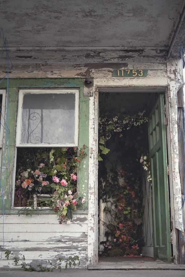 A Flower Farm Blooms From An Abandoned House In Detroit #abandonedplaces