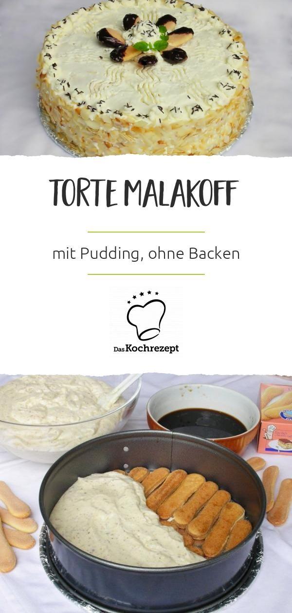 Torte Malakoff #löffelbiskuitrezept