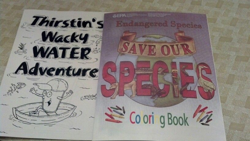 Free Coloring Book And Activity From EPA