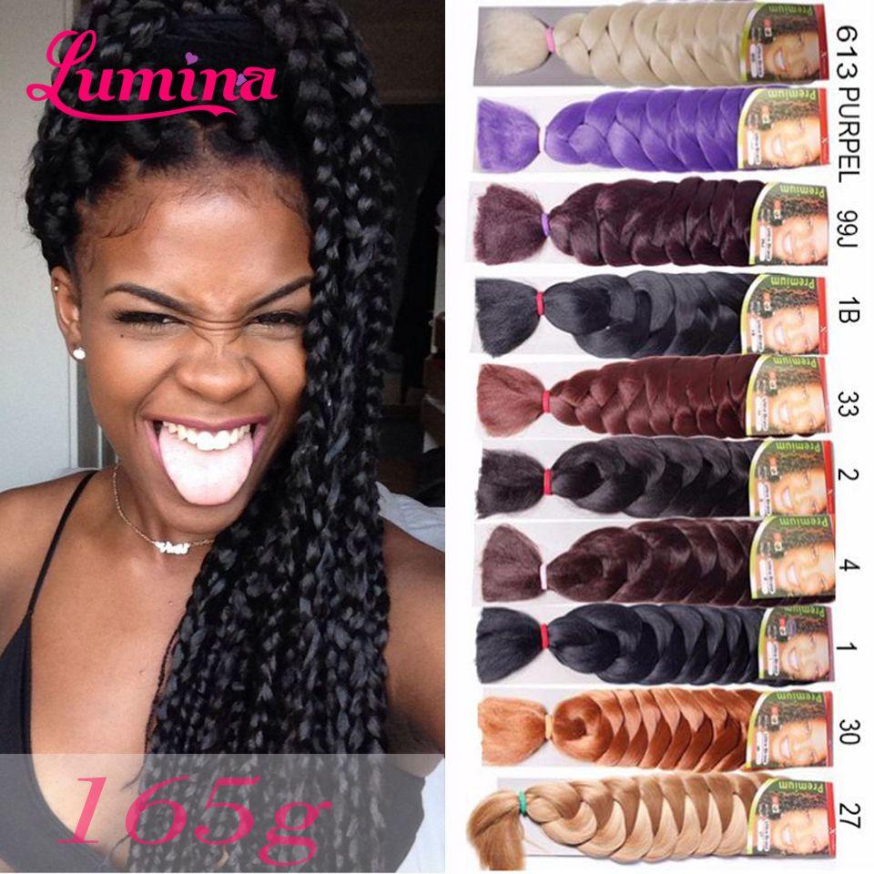 human xpressions braiding hair 1b