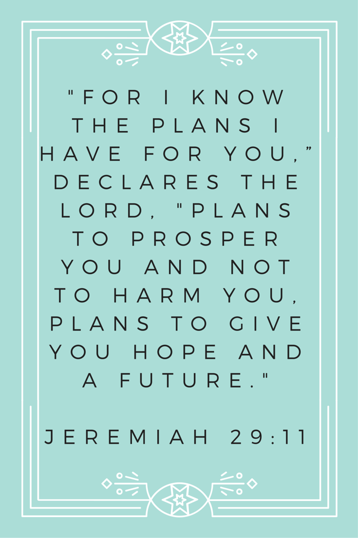 Jeremiah 29 11 Bible Quotes Inspirational Words Words