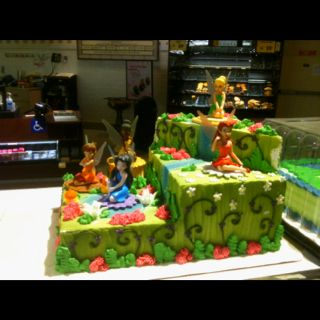 Tinker Bell Cake From Safeway Birthday Party Games Amazing Cakes Recipe
