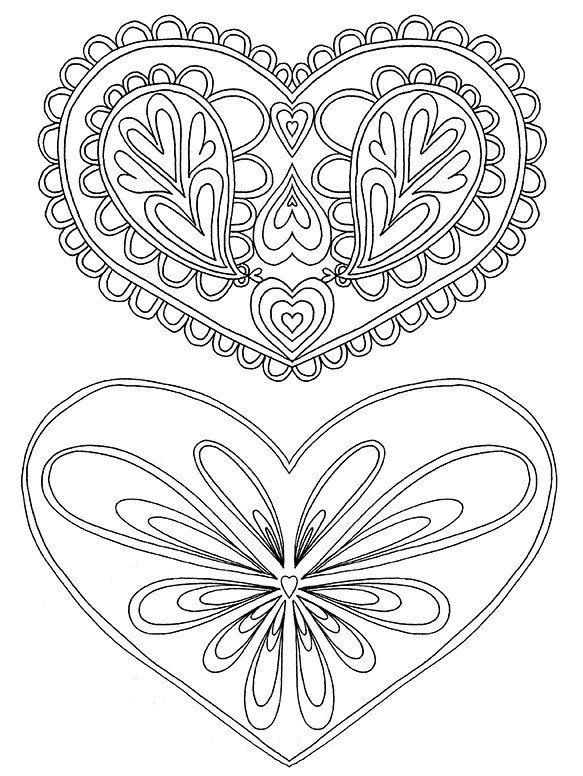 Blank Heart Templates Heart Template Heart Shapes Template