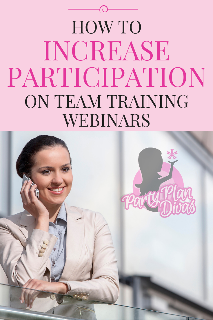 How To Increase Participation on Team Webinars & Meetings