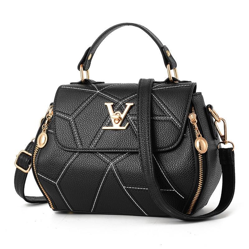 673be9a59f6 New Woman Fashion V Letters Designer Handbags Luxury Quality Lady ...