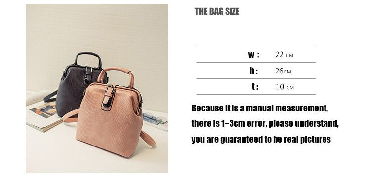 New Hot European style Women Crocodile Pattern Doctor Women Backpack 2016 Famous HASP Belt Bags Women's PU Leather Rucksack Bag   Read more at Bargain Paradise : http://www.nboempire.com/products/new-hot-european-style-women-crocodile-pattern-doctor-women-backpack-2016-famous-hasp-belt-bags-womens-pu-leather-rucksack-bag/   Material:PU  BackPack Type:Handbags&BackPack  Size:22*26*10cm  Weight:0.75kg