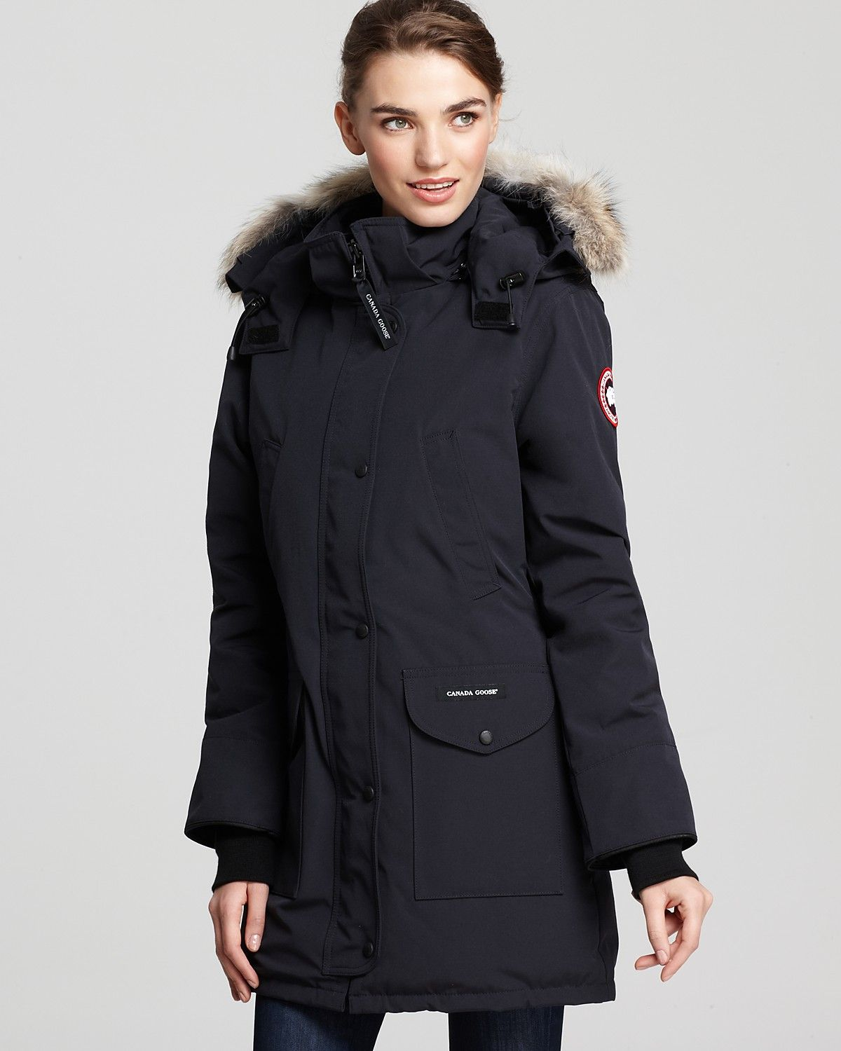 canada goose jacket womens long