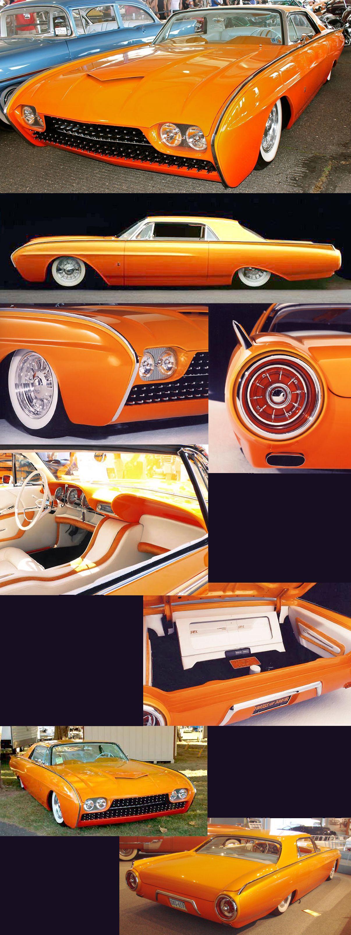 1963_tbirdtango custom cars paint vintage sports cars