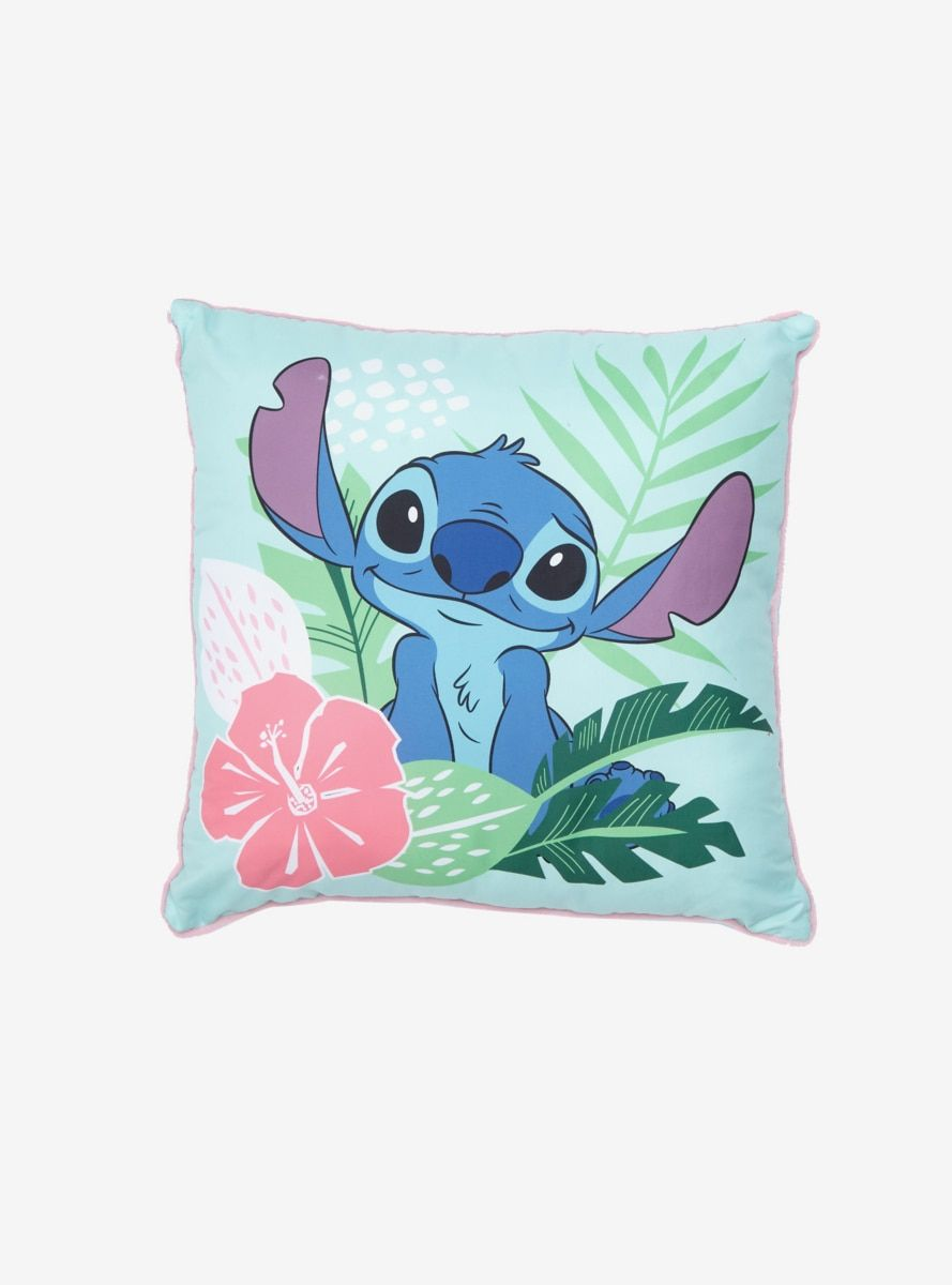 Disney Lilo Stitch Leaves Pillow Disney Pillows Leaves Pillow Disney Room Decor