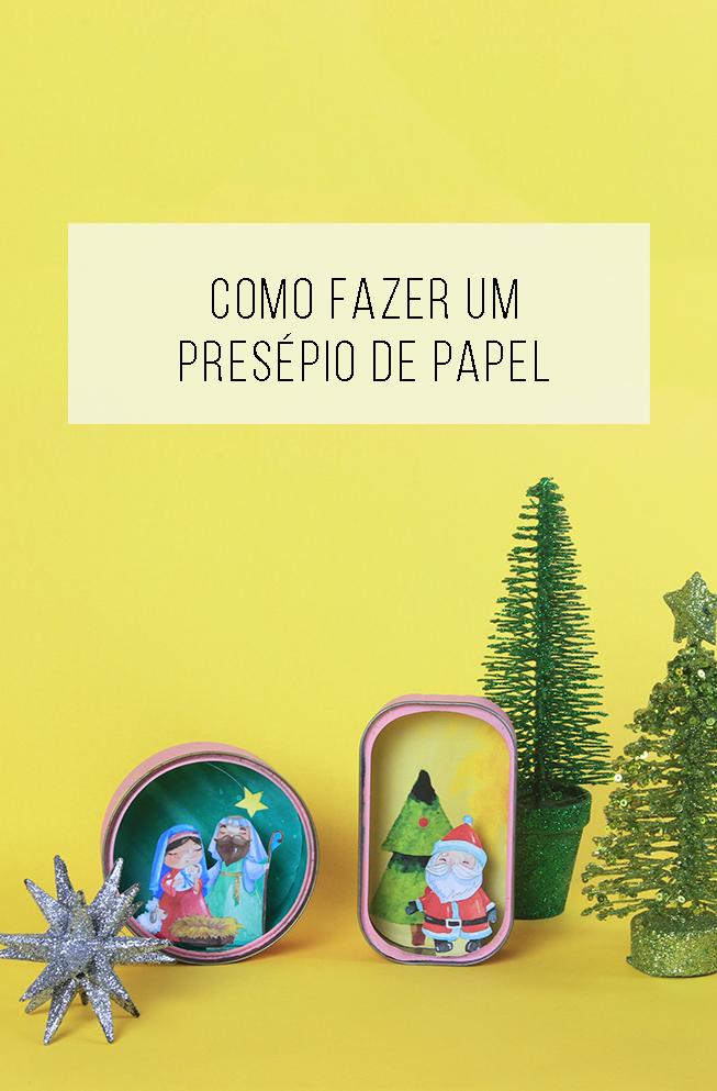 Presépio de Natal para download: para você imprimir e montar ...