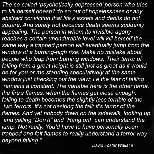 David Foster Wallace Criminal Minds Quotes Life Quotes David Foster Wallace Quotes