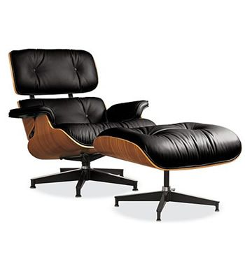 Eames Lounge Chair No. 670 + Ottoman No.671, 1956 Rosewood