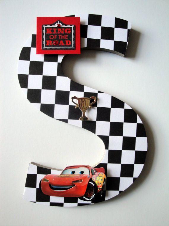 Disney Cars Custom Wall Letters Disney Cars Boys Room Decor