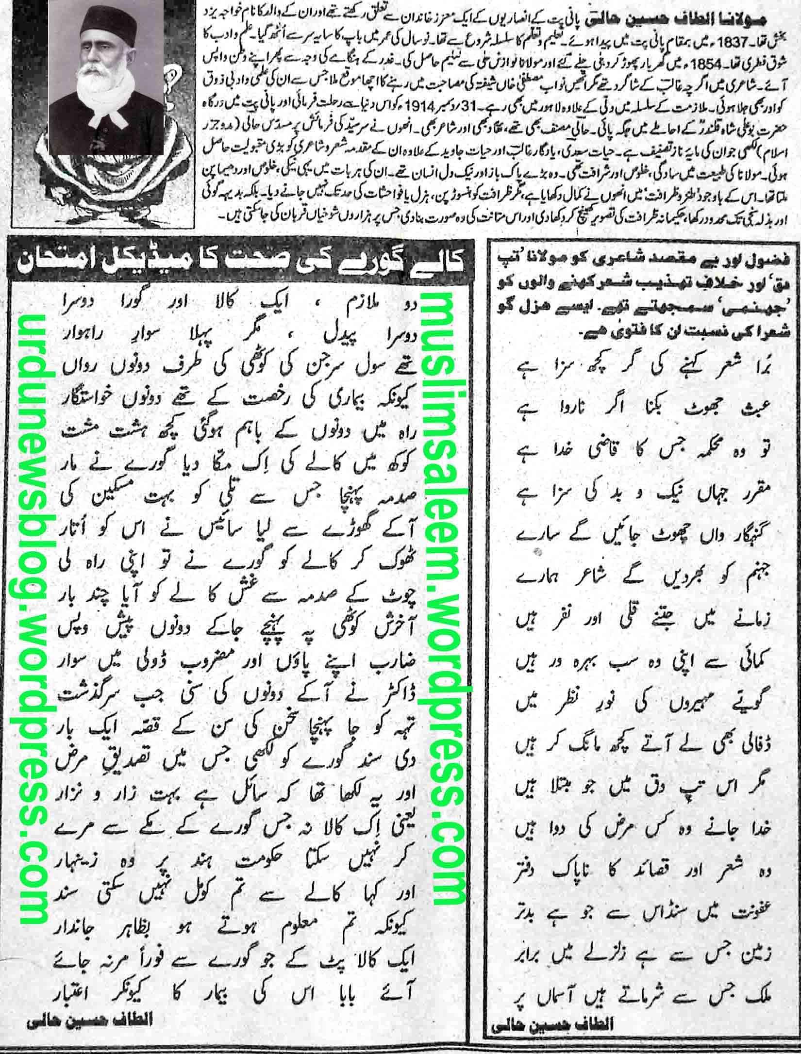 Hindi Altaf Husain Haali – Swatfilms