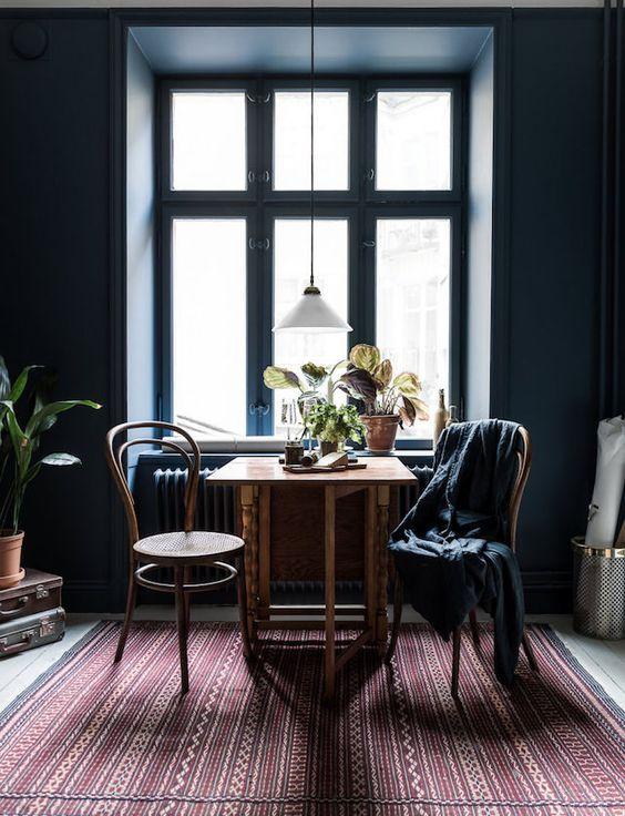 73 inspirations pour mettre des couleurs sombres dans sa déco #dunkleinnenräume