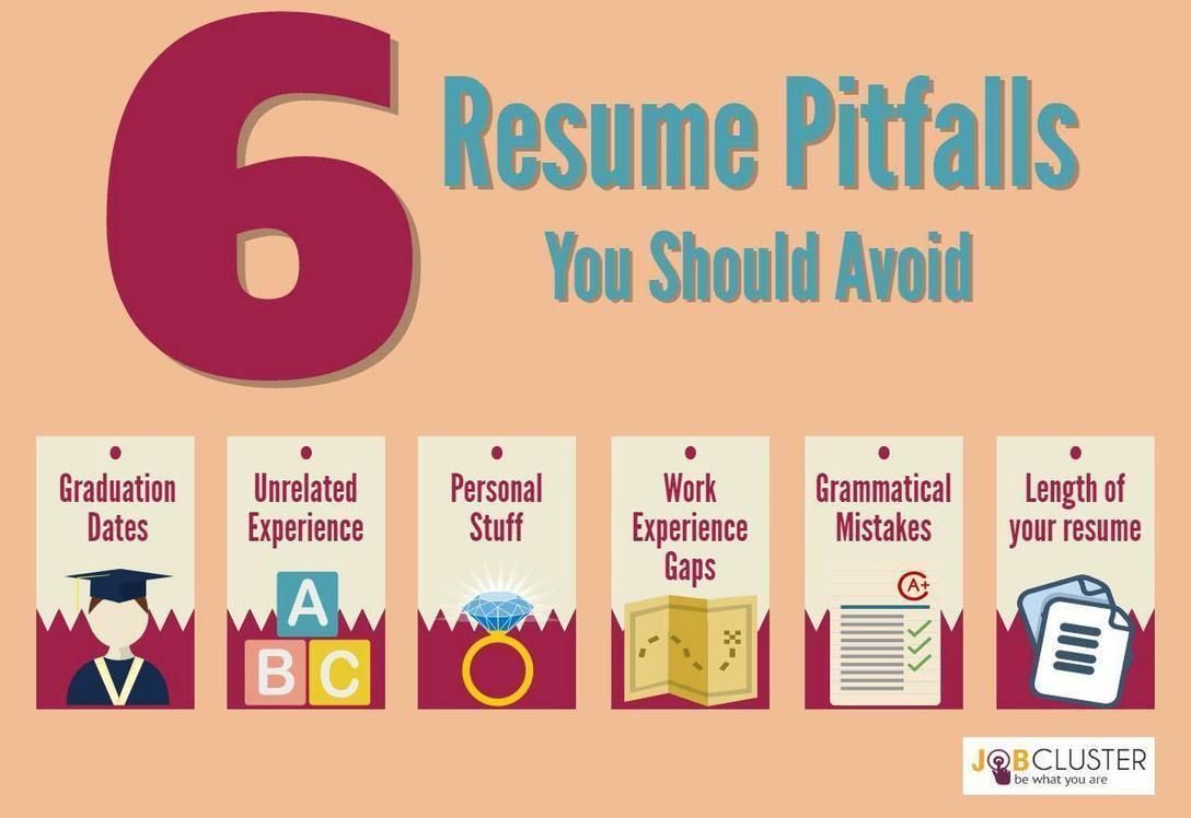6 common resume pitfalls that you should never put on your