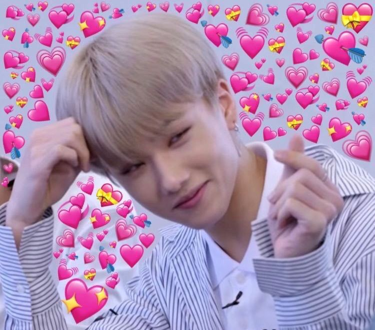 Love You Two Norenmin Funny Kpop Memes Heart Meme Cute Love Memes