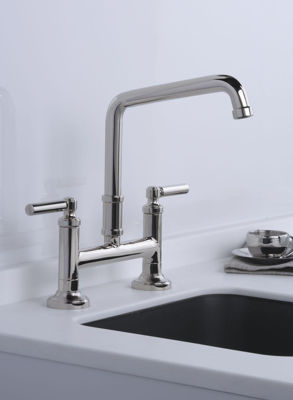 Kallista Quincy Bridge Kitchen Faucet, available at lav•ish-The ...
