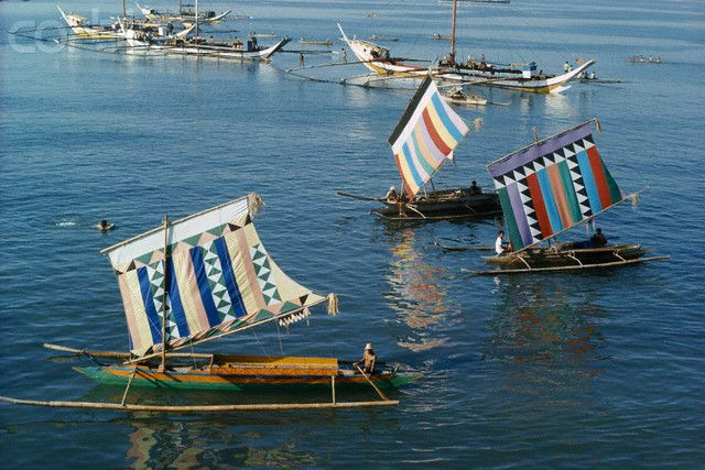Vintas with Colorful Sails