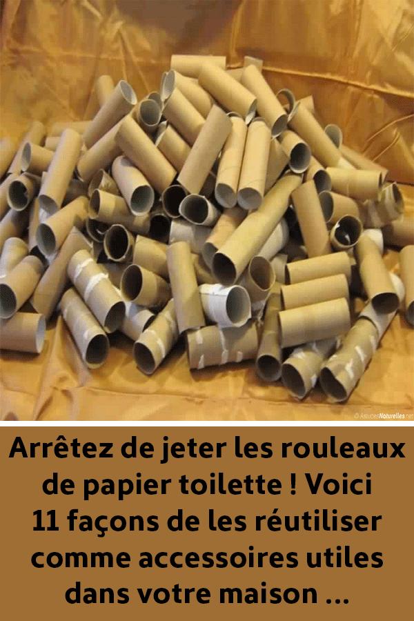 Arrêtez de jeter les rouleaux de papier toilette ! Voici 11 façons de les réutiliser comme accessoires utiles dans votre maison … #rouleaupapiertoilette