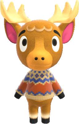 Erik is a lazy, deer villager in the Animal Crossing ...