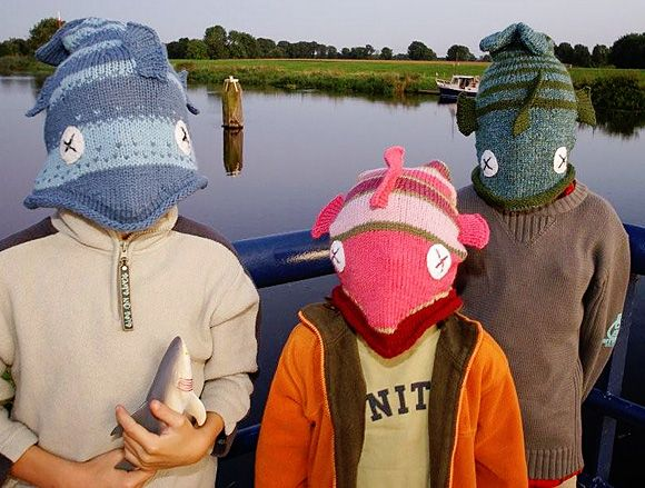 Knit Fish Hats Luv Been Wanting To Do This One For Awhile Free