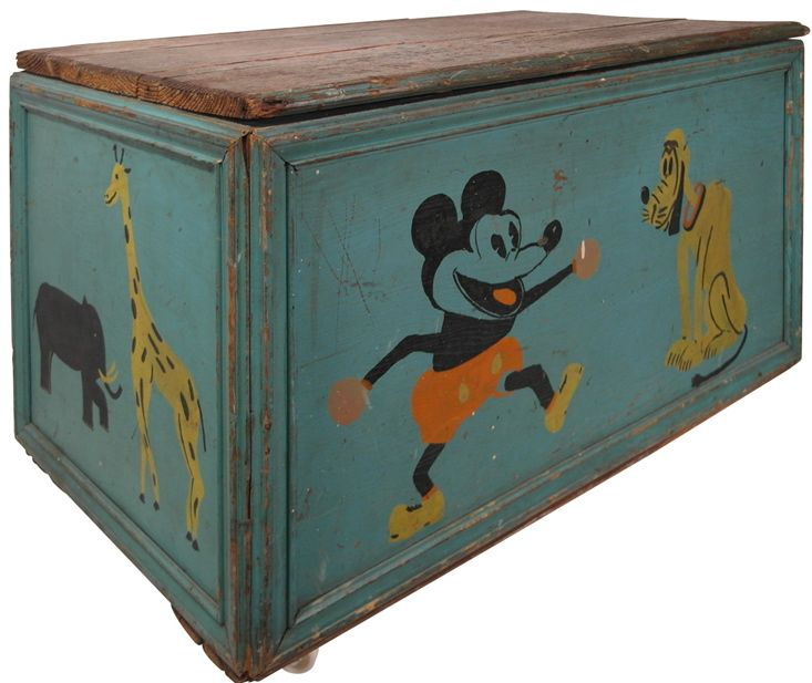 Toy Chest Toy Chest Mickey Mouse Toys Vintage Mickey Mouse