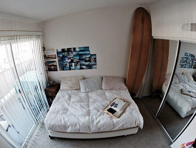 simple surfer bedroom dream bedroom pinterest