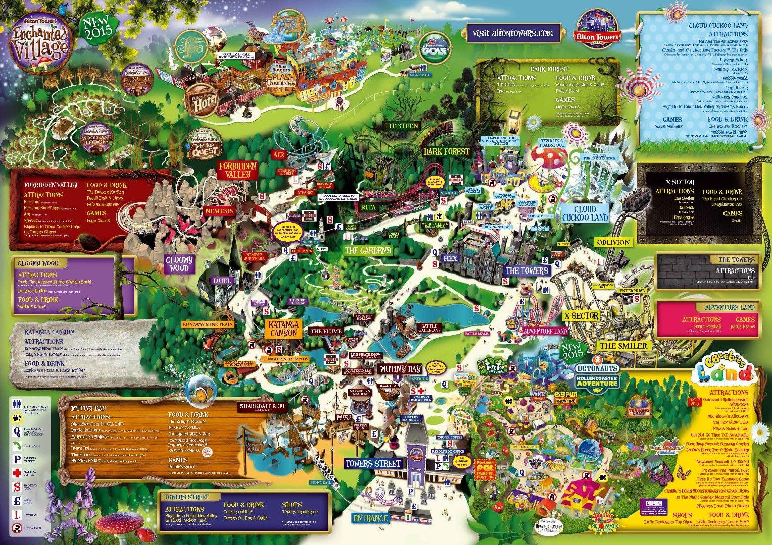 Http www alton towers co uk pages theme park - Alton Towers Is A Theme Park In The County Of Staffordshire United Kingdom It