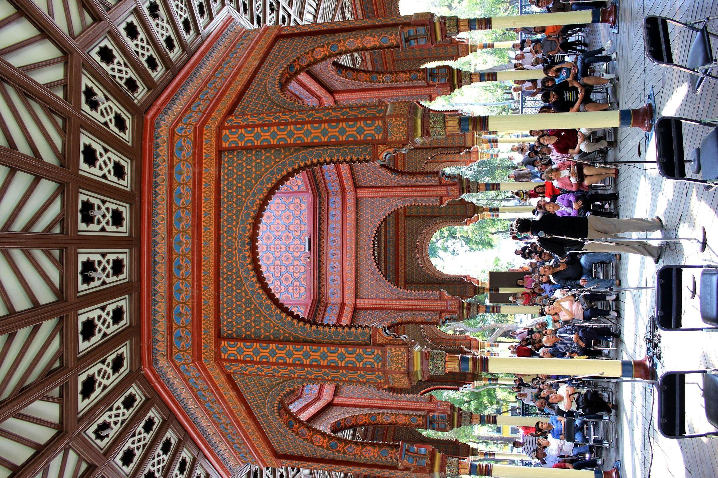 Flashmob en el Kiosko Morisco. Foto: Dardané Pérez Romero / Secretaría de Cultura del GDF.