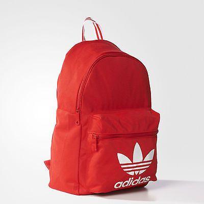 equivocado Tan rápido como un flash Decir  Adidas Originals Trefoil Logo Backpack Classic Bookpack School Bag New | Adidas  backpack, Backpacks, Bags