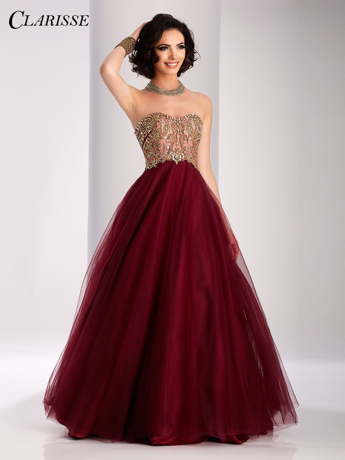 Clarisse Two Tone Ball Gown 3011 | Ball gowns, Prom and Gowns